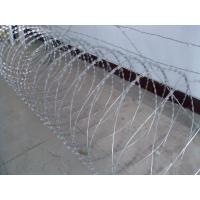 Wholesale Metal Security Razor Wire Barrier Fencing Border Edging Corrosion Resistance from china suppliers