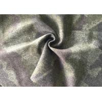 Wholesale Customized Printed Wool Fabric For Winter Coat Flame Retardant from china suppliers