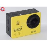 Wholesale Waterproof Full HD Sports Action Camera ,  Esj7000 Yellow Sports Helmet Camera from china suppliers