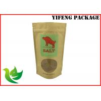 Wholesale Stand Up Ziplock Bags For Nuts With Kraft Paper Meterial , Free Sample from china suppliers