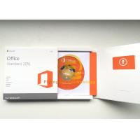 Wholesale DVD / Key Card Computer System Softwares , Microsoft Office 2016 Pro Plus 64 Bit from china suppliers