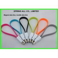 Wholesale Magnet Micro usb data line, noodles usb data cable, micro usb cable from china suppliers