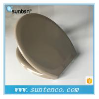 Buy cheap Urea Oval Custom Designed Grey Toilet Seat Covers Manufacturer from wholesalers