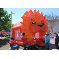 Wholesale Cartoon Aminal Inflatable Bouncy Castle , Inflatable Lion Jumping Castle For Kids from china suppliers