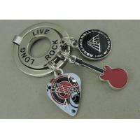 Wholesale Long Live Rock Promotional Keyrings Soft Enamel Customized Key Chain from china suppliers