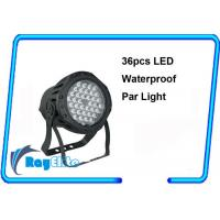 Wholesale Weatherproof 36 x 3Watt led par light for stand-alone / die cast body from china suppliers