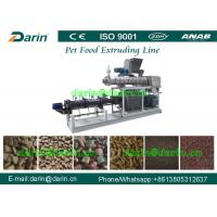 Wholesale Fish Pet Food Extruder production line , dog food maker machine from china suppliers
