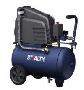 China 0302441X Quiet Portable Air Compressor Oil Free Pump 6 Gallon 24 Liters on sale