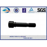 Quality Zhongyue SGS Inspected Railway Rail Fishtail Bolt For Joint Bar for sale