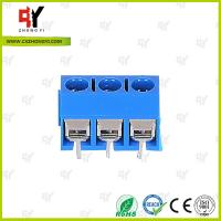 Wholesale HQ306-5.0 Terminal Block PCB 2P - 3P Pole PA66 UL94V-0 Material from china suppliers