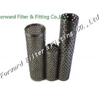 Wholesale Durable Ss 2.5mm Thick Perforated Metal Tube / 300mm Diameter from china suppliers