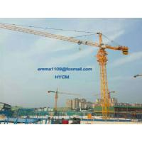 Buy cheap 12tons QTZ7032 Construction Tower Crane Top Slewing type with VFD Control from wholesalers