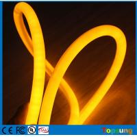 Wholesale 360 degree led flexible neon light 220V 16mm diameter yellow 120LED festival decoration from china suppliers