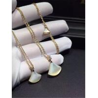 Wholesale Bvlgari Big, medium, small. Necklace 18k gold white gold yellow gold rose gold Mosaic pearl female and diamond necklace from china suppliers