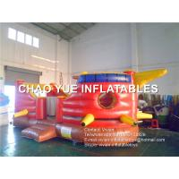 Wholesale Waterproof Inflatable Pirate Ship Bouncer 0.55mm 18 oz PLATO PVC Tarpaulin Material from china suppliers