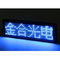 Wholesale Blue LED Name Badge 1.8 mm Pixels with 4 Levels Brightness Adjustment from china suppliers