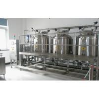 Wholesale CIP Cleaning System / Minute Vertical CIP Systems For Beverage Production Line from china suppliers