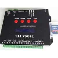 Buy cheap T-8000A SD Card WS2801 WS2811 WS2812 LPD6803 TM1903 DMX512 RGB Digital Addressable RGB Strip LED Controller from wholesalers