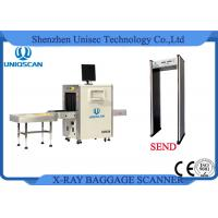 Wholesale ISO/CE certificated dual view high clear image X-ray baggage scanner 56*36cm from china suppliers