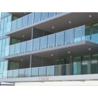 Quality Modern Building Project Balustrading For Sale, Glazed Balustrade for sale