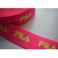 Wholesale Spandex / Polyester Eco - Friendly jacquard elastic band , Jacquard elastic straps from china suppliers