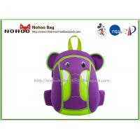 Wholesale Waterproof Kids Animal Backpack , Personalised Toddler Backpack Elephant Style from china suppliers