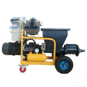 China Multifunction Robot Mortar Spray Plaster Machine / Wall Plastering Equipment SLW120 on sale