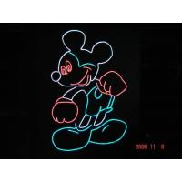 Buy cheap kpt soft and flashing neon el wire for making posters from wholesalers