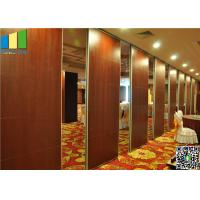 Quality Wooden Surface Folding Partiion Walls , Operable Partition Walls for sale