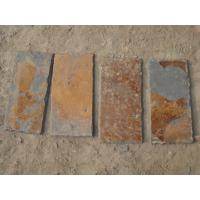 Wholesale Rusty Multicolor Slate Roof Tiles Natural Stone Roofing Slate Tiles 400x200 300x300mm from china suppliers