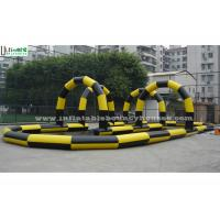 Wholesale Outdoor Sport Inflatable Race Track For Zorb Balls N Cars Racing from china suppliers