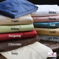 Wholesale Navy Fawn Teal Gold Full Size Queen Hotel Microfiber Bedding Sheet Set from china suppliers