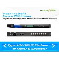 Wholesale IPTV TS Converter IP Multiplexer Scramblers TV Digital Scrambler Support 4 Simulcrypt from china suppliers