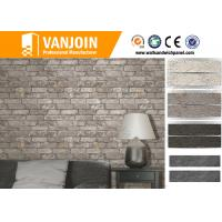 Wholesale Unique Retro Style Flexible Wall Tiles , Ecological Split Brick Tile Flame Retardant from china suppliers