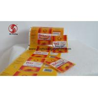 Quality Coffee / Tea Glossy Printed Packaging Film Roll Food Grade Moisture Proof Leakproof for sale