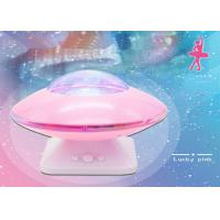 Quality 5W Color changing speaker music UFO aurora projector night lamp with 8 modes lighting for sale
