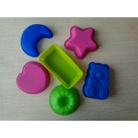 Wholesale Colorful Flexible Nonstick Assorted Silicone Baking Moulds For Gelatins Treats from china suppliers