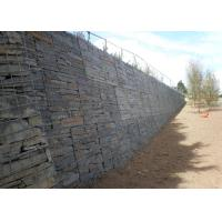 Wholesale PVC Coated Wire Gabion Retaining Wall Flexible For Water Protection from china suppliers