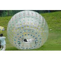 Wholesale Transparent Inflatable Walking Ball , Pvc Soft Handle Water Zorb Ball Football from china suppliers
