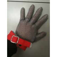 Wholesale Stainless Steel Mesh Safety Gloves , Kitchen Safety Meat Slicer Gloves from china suppliers