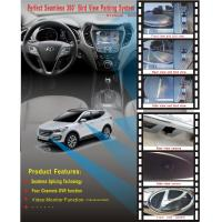 Wholesale Hyundai IX35 360 Rear View Camera System With DVR Function, Loop Recording in 4-way DVR in real time from china suppliers