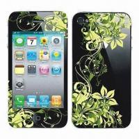 Wholesale Screen Protector for iPhone 4/4S, Various Patterns are Available from china suppliers