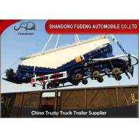 Wholesale 40M3 Bulk Cement Tanker Trailer 3 Axles With Air Compressor And Diesel Engine from china suppliers