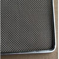 Buy cheap Stainless Steel Wire Mesh Tray Sheet with Frame Wire for food baking,dehydration,304 food grade from wholesalers