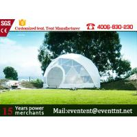 Wholesale Guangzhou Customized Tent Manufacturer Geodesic Dome Tents dome house for Outdoor camping family event from china suppliers