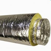 Wholesale Insulated Flexible Duct With Fberglass Wool from china suppliers
