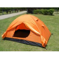 Wholesale Durable Small Family Waterproof Camping Tent Orange / 1 - 2 Person Tent from china suppliers