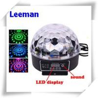 Wholesale Digital Rgb LED Magic Ball Light 6W / Professional Stage Lighting Equipment 4500lm from china suppliers