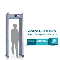 Wholesale IP55 24 detection zones Door Frame Metal Detector Walk Through Airport check from china suppliers