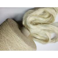 Quality Semi Bleached White Hemp Fibres for Cool Spring Summer Cloth Weaving for sale